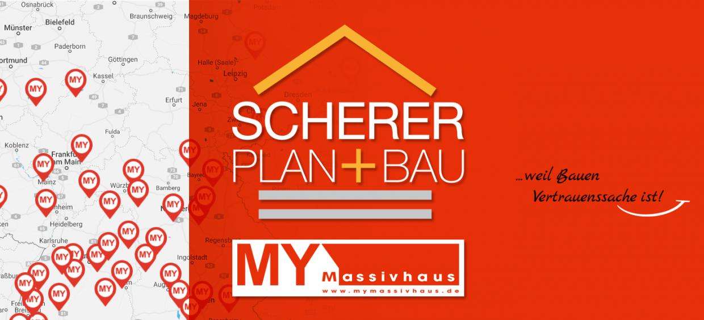 scherer plan+bau und mymassivhaus eine starke Partnerschaft